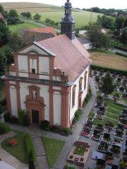 Holzkirchen - Pfarrkirche und Friedhof